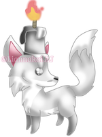 A Light in the Dark |Ask-Emralt's Chibi Commission by Liannakai