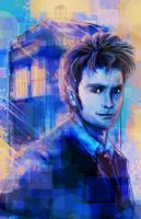 Doctor Who 10th by Sempaiko