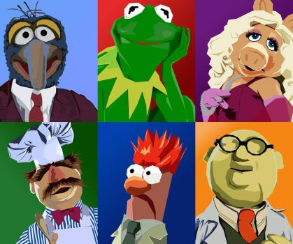 Muppets Vector by tjjwelch