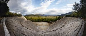 Greece - Epidaurus - Theatre - 01 by GiardQatar