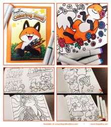 StupidFox Coloring Book by eychanchan
