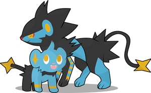 shinx and luxray