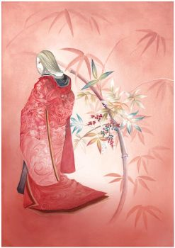 Japanese traditional pattern by K-Hiroko