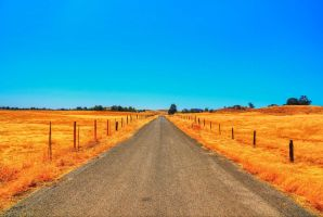 Empty Road by lundyleng