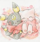 Mew and Umbreon by Kidura