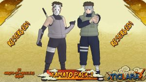Naruto - Yamato PACK 1 FOR XPS by ASideOfChidori