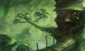 Forested World by ExitMothership