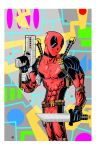 DEADPOOL color by drawhard