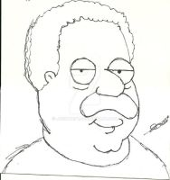 Cleveland Brown (Cleveland Show/Family Guy) by Joshtrip1