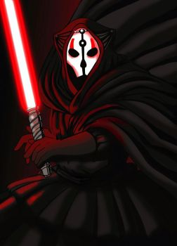 KOTOR Darth Nihilus by dmtr1981
