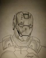 Iron man by almberger