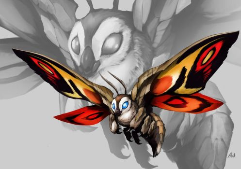 Mothra by DoomGuy26