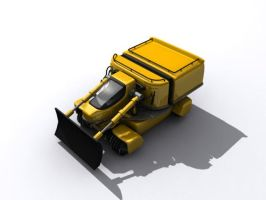TESH-driven dozer by Dlordtesh