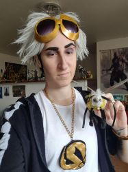 Guzma cosplay by PyodeKantra
