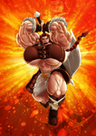 Barbarian Rage by SimonLMoore