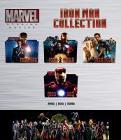 Iron Man Movie Collection Folder Icon Pack by Bl4CKSL4YER