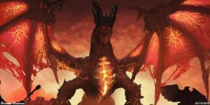 Deathwing The Cataclysm by bobobiscuits