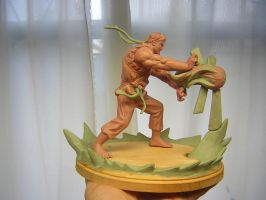 Ryu from Street Fighter by ZKULPTOR