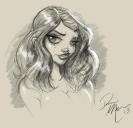 Warm-up sketch02 by Dominic-Marco