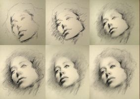 Quick drawing WD process by SILENTJUSTICE