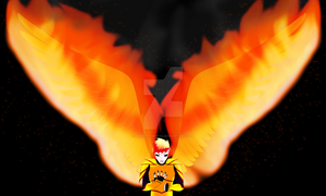 Phoenix - Flame Practice by ArmoredWings