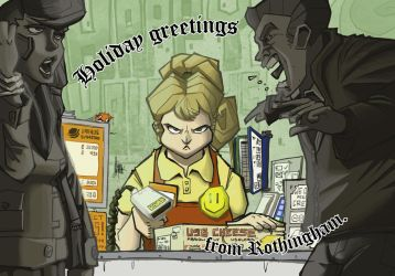 Christmas card 2010 by TheArtrix