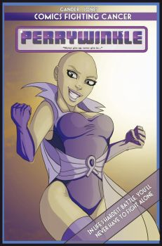 Print Edition Cover Redux by PerryWinkleComic