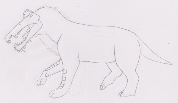 Ammit the Devourer Redesign Concept Sketch by HewyToonmore