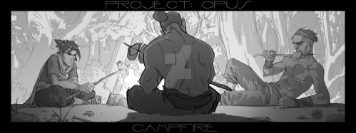 PROJECT: OPUS - Campfire by MicahJGunnell