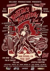 Horton's Hayride Festival Poster 2015 by MadTwinsArt