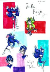 TD: Page of doodles by so-something