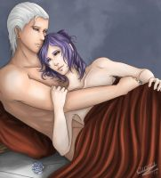 Hidan and Konan relaxing by Caru-Ra