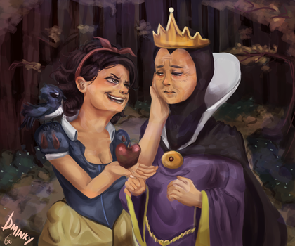 Twist Fate: Snow White by dminky