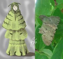 Moth Series10-The Attuned by SineSquared