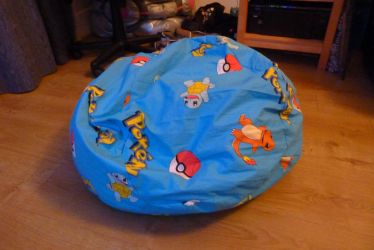 Pokemon beanbag by nycalder