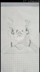 My sketch of Guilmon!