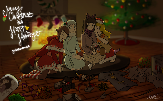 RWBY Christmas 2015 by geek96boolean10
