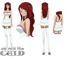 Kasumi - One Piece Film: Gold - White outfit by Kaede-Sawamura