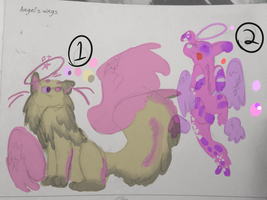 Angel's Wings Adopts!! OPEN by enigmew