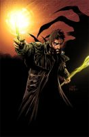 Dresden Files Cover Issue 4 by th3rdworld