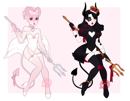 Valentines Concubus Adoptables CLOSED by PetitePasserine