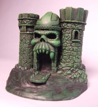 Fantasy Skull Castle. Painted edition edition 2012 by BaRs0m