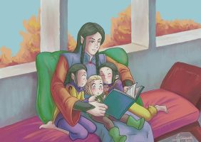 Imladris Autumn Afternoon Storytime by Miyucchi