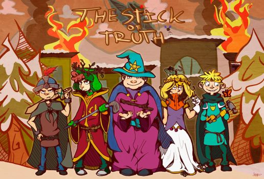 The Stick Of Truth by Itzitxou