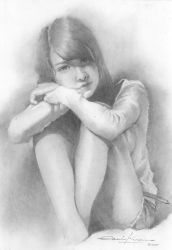 just study with pencil by twiens