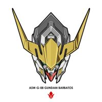 Gundam barbatos head V2 by hafidhsyifa