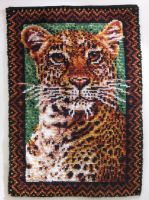 Leopard Rug by AreteEirene