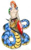 Caerulean the Naga by Venex123