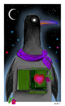 Be my Penguin by altergromit