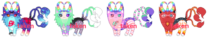 [CUSTOMS] UniCat True Forms by mouldyCat